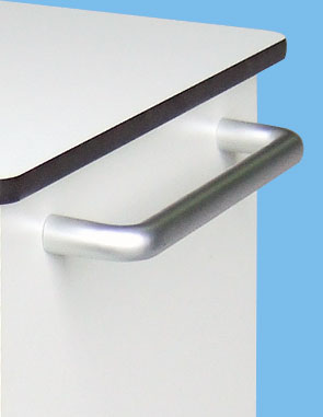 MULTICHARGE NHS OR SCHOOL Tablet trolley handle