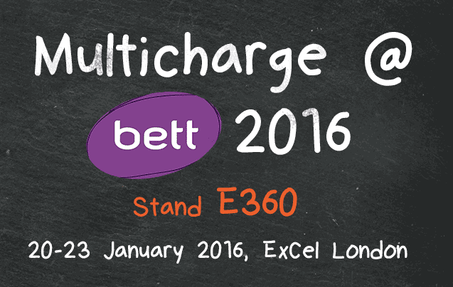 Multicharge at Bett 2016