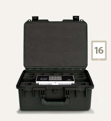Charge and Sync Case for 16 GoPro Cameras