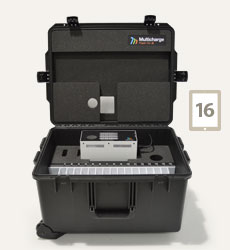Charge and Sync Case for 16 iPads
