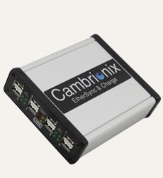 EtherSync and Charge from Cambrionix